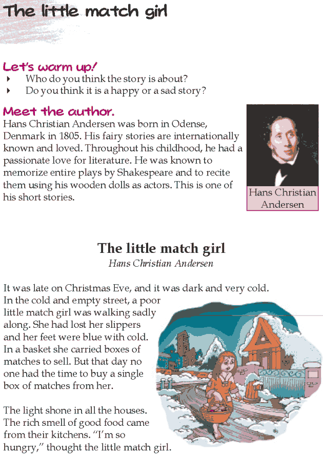 Grade 5 Reading Lesson 24 Short Stories - The Little Match Girl