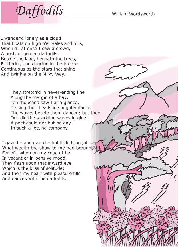 Grade 6 Reading Lesson 1 Poetry - Daffodils (1)