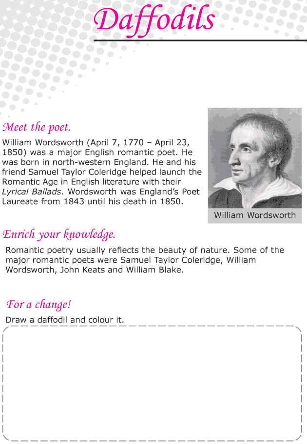Grade 6 Reading Lesson 1 Poetry - Daffodils