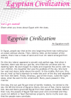 Grade 6 Reading Lesson 18 Myths And Legends Myths And Legends - Egyptian Civilization