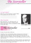 Grade 6 Reading Lesson 19 Short Stories - The Storyteller