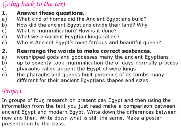 Grade 6 Reading Lesson 21 Nonfiction - Ancient Egypt (4)