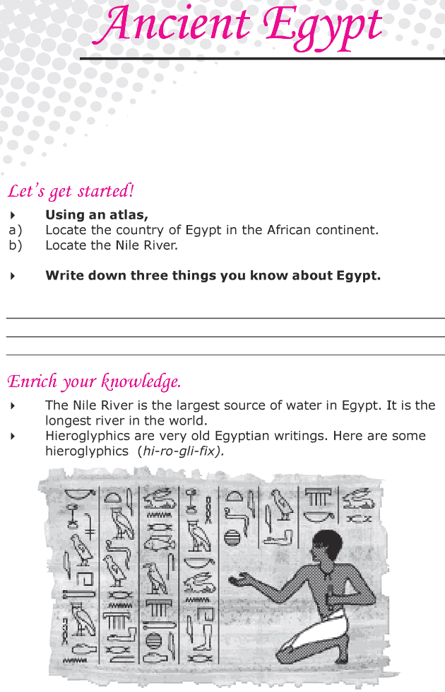 Grade 6 Reading Lesson 21 Nonfiction - Ancient Egypt