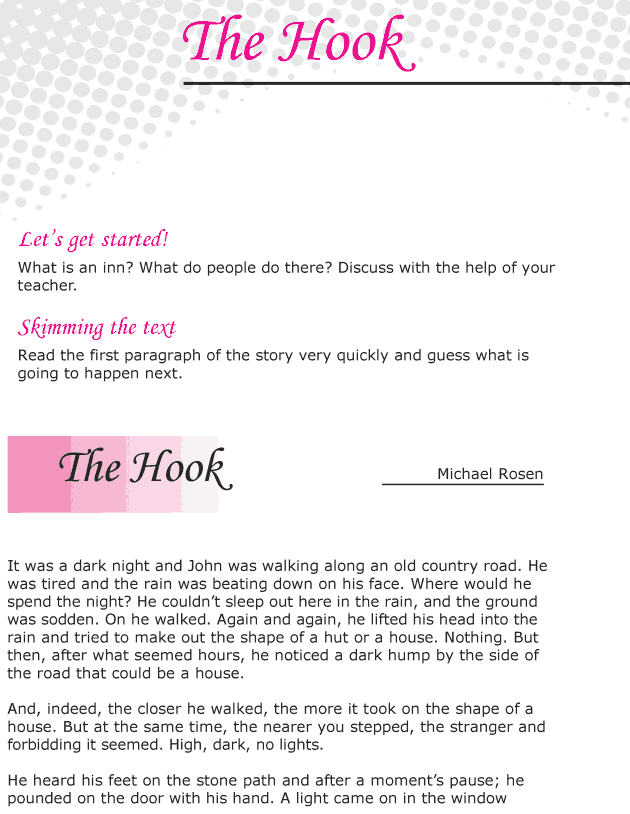 Grade 6 Reading Lesson 25 Horror - The Hook