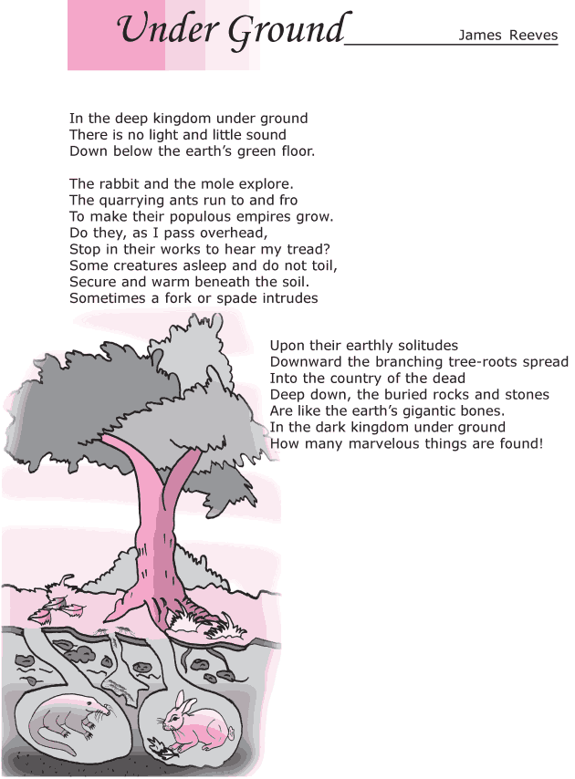 Grade 6 Reading Lesson 3 Poetry - Under Ground (1)