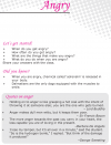 Grade 6 Reading Lesson 6 Poetry - Angry