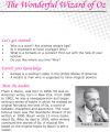 Grade 6 Reading Lesson 8 Fantasy - The Wonderful Wizard Of Oz