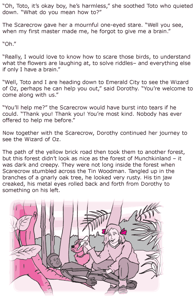 Grade 6 Reading Lesson 8 Fantasy - The Wonderful Wizard Of Oz (4)