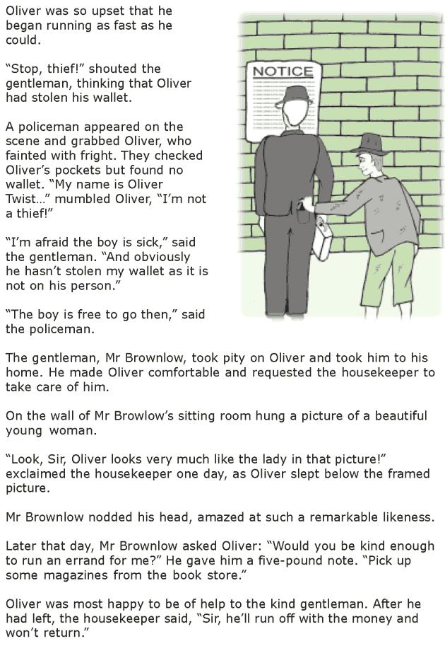 Grade 7 Reading Lesson 15 Classics - Oliver Twist (3)