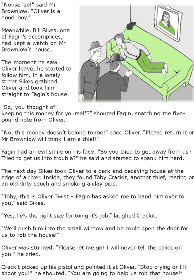 Grade 7 Reading Lesson 15 Classics - Oliver Twist (4)