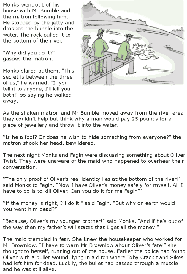 Grade 7 Reading Lesson 15 Classics - Oliver Twist (6)