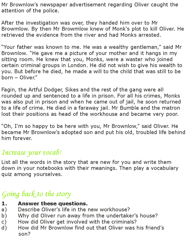 Grade 7 Reading Lesson 15 Classics - Oliver Twist (7)