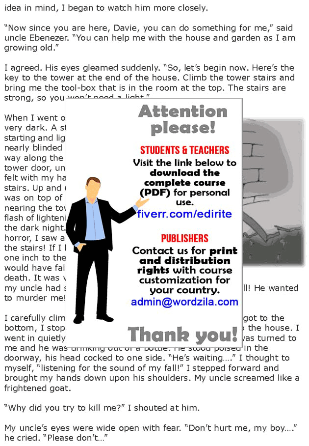Grade 7 Reading Lesson 17 Classics - Kidnapped (2)