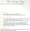 Grade 7 Reading Lesson 20 Nonfiction - The Stone Age