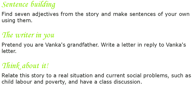 Grade 7 Reading Lesson 3 Short Stories - Vanka (6)
