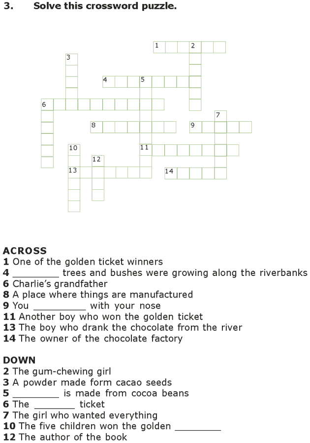 Grade 7 Reading Lesson 4 Fantasy - The Chocolate Room (9)
