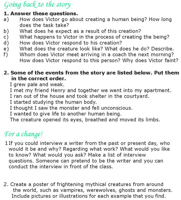 Grade 8 Reading Lesson 1 Classics - Frankenstein (4)