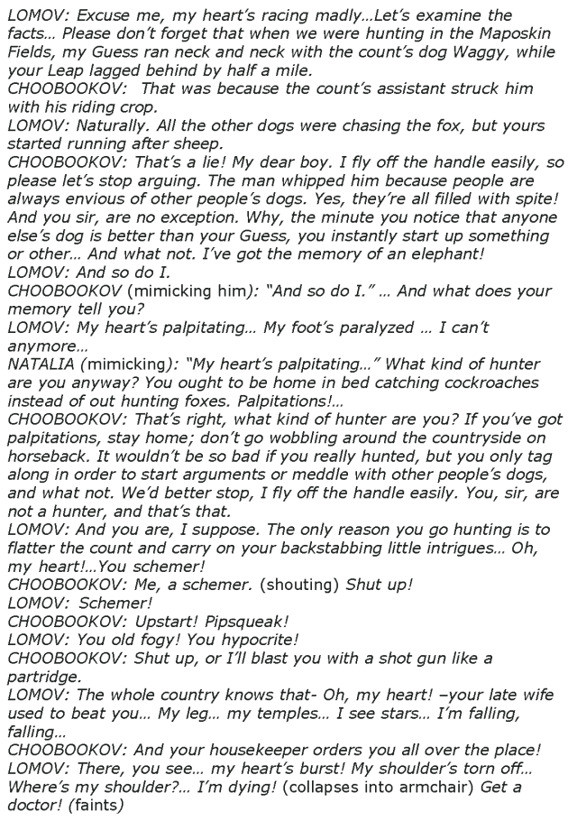Grade 8 Reading Lesson 26 Play - A Marriage Proposal (9)