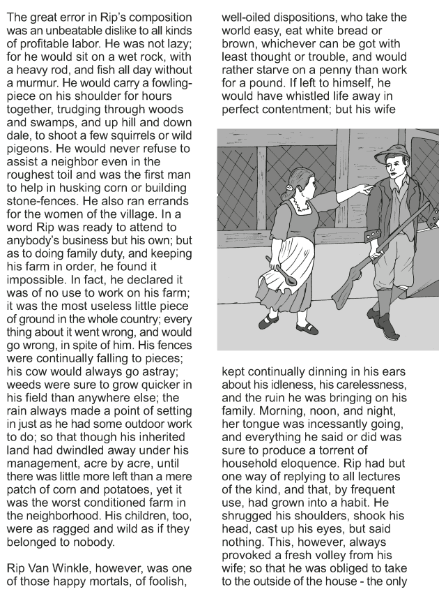Grade 9 Reading Lesson 11 Short Stories - Rip Van Winkle (2)