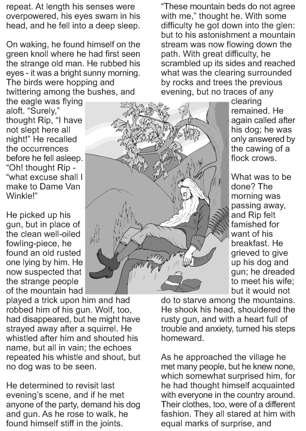 Grade 9 Reading Lesson 11 Short Stories - Rip Van Winkle (5)