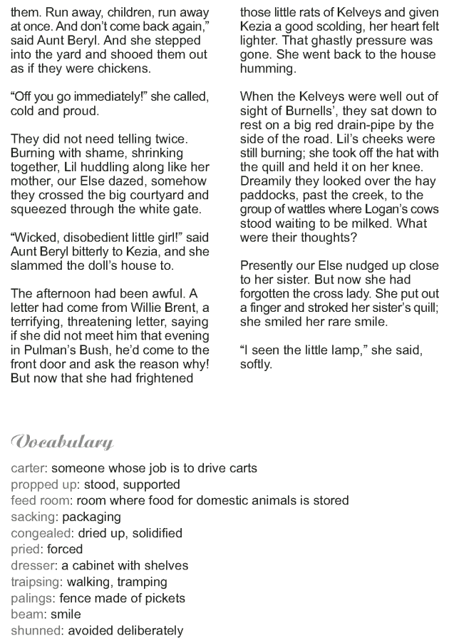 Grade 9 Reading Lesson 12 Short Stories - The Dolls House (7)