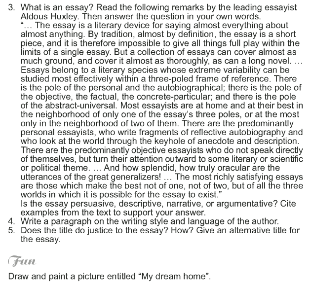 Grade 9 Reading Lesson 14 Essays - Homeless (5)