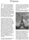 Grade 9 Reading Lesson 17 Essays - France
