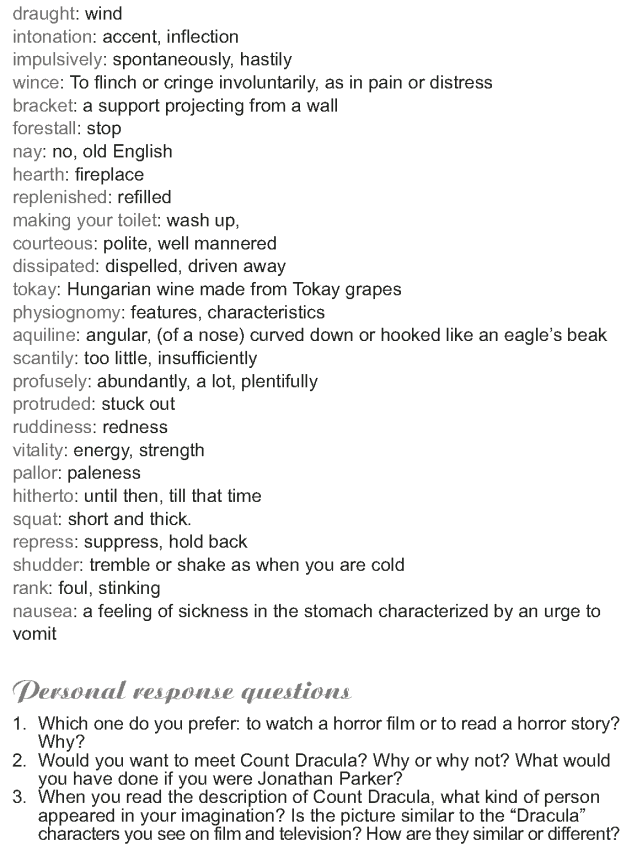 Grade 9 Reading Lesson 21 Classics - Dracula (6)