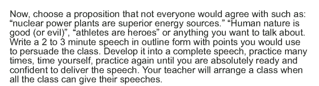 Grade 9 Reading Lesson 24 Speech - Advice to Youth (8)